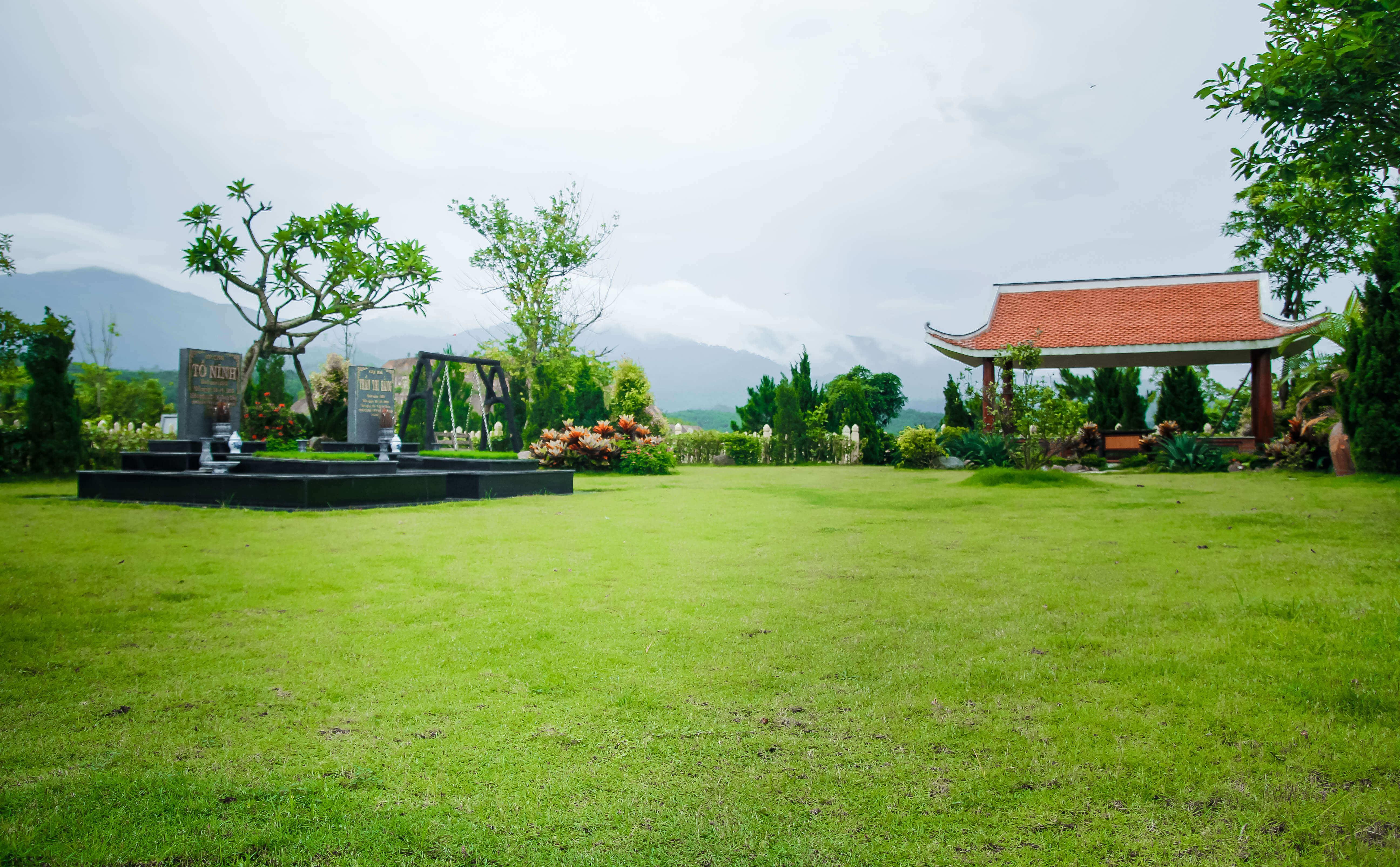 Khuôn viên 350m đồi kim nghĩa trang lạc hồng viên